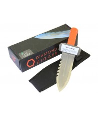 Quest Diamond Digger with Sheath (Right Side Serrated Edge)