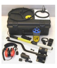 "Aquascan Aquapulse AQ1B Metal Detector Professional Kit with 10"" Submersible Coil"