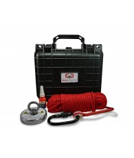 Brute Box 880 lb Magnet Fishing Bundle