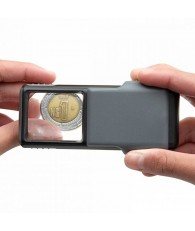 Carson 5x Slide-out LED MiniBrite Aspheric Lens Magnifier with Protective Sleeve