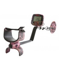 Fisher F19 LTD Pink Camo Metal Detector