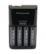 Panasonic 4-Position Charger with AA eneloop® PRO Rechargeable Batteries, 4 pk