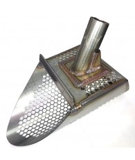 "Gold Digger T-Rex 6.5"" Stainless Steel Sand Scoop - Honeycomb Holes"