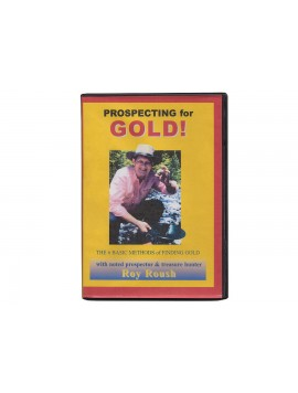 Kellyco Prospecting for Gold by Roy Roush DVD 6301 Image 1