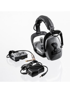 DetectorPro Gray Ghost Wireless Headphones (FBS / GPX)