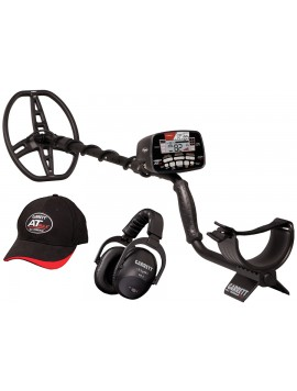 Garrett AT Max with Z-Lynk and MS-3™ Z-Lynk Wireless Headphones and AT Max baseball cap