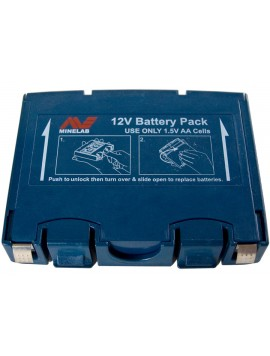 Minelab Blue Alkaline Battery Pack (Sovereign GT / Eureka Gold)  03110033 Image 1