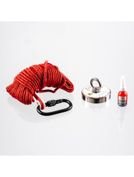 Brute Magnetics 880 lb Magnet Fishing Bundle