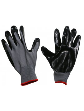 Kellyco Black Polyurethane Coated Gloves Image 1
