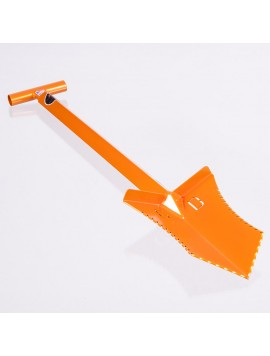 "Grave Digger Tools 36"" Tombstone Illusion Orange T-Handle Shovel"