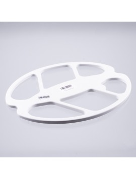 "Nokta Makro 15.5"" x 13"" White Search Coil Cover (Gold Racer)"