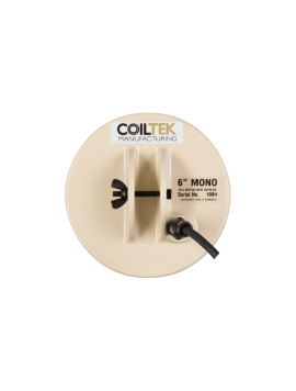 "Coiltek 6"" Goldstalker Mono Search Coil"