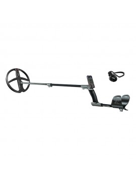 XP Metal Detectors Deus RC WS4 Metal Detector shown with all accessories from Kellyco Metal Detectors