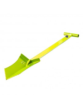 "Grave Digger Tools 36"" Tombstone Venom Green T-Handle Shovel"
