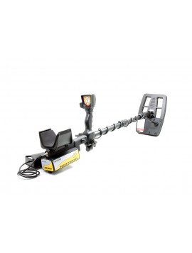Nokta Makro Jeotech LED System Metal Detector shown in full view on white background