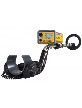 JW Fishers Pulse 8X Version 2 Metal Detector Top View
