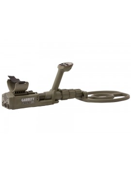 Side profile view of Garrett ATX Extreme PI Metal Detector