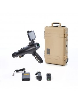 OKM Bionic X4 - Long Range Gold Metal Detector shown with accessories from Kellyco Metal Detectors