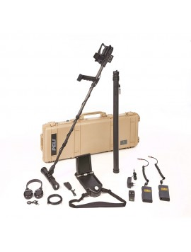 OKM eXp 4500 Professional Metal Detector shown with all accessories from Kellyco Metal Detectors