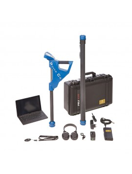 OKM Rover C4 Metal Detector shown with all accessories from Kellyco Metal Detectors