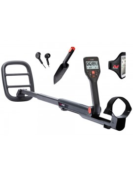 Minelab GO-FIND 66 Metal Detector shown with accessories from Kellyco Metal Detectors