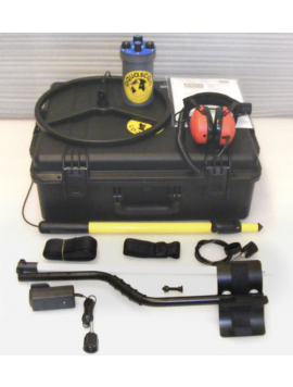"Aquascan Aquapulse AQ1B Metal Detector Commercial Kit with 15"" Submersible Coil"