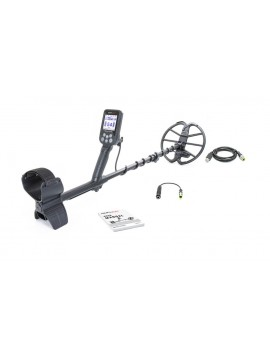 Nokta Makro Simplex+ Metal Detector shown with accessories from Kellyco Metal Detectors