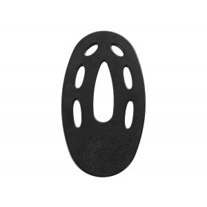 """Fisher 10"""" Elliptical Coil Cover"""
