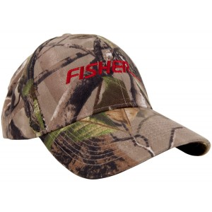 Image of Fisher Embroidered Camouflage Cap