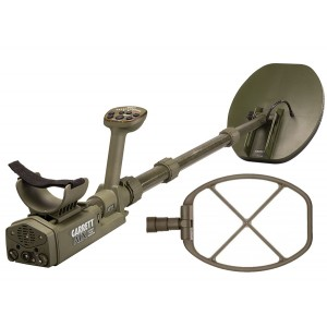 "Garrett ATX Pro Deepseeker Package Metal Detector 11x13"" Closed DD Coil Package 15x20"" Open"