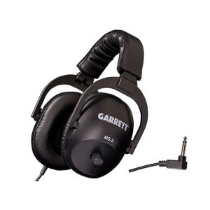 "Image of Garrett MS-2 Headphones with 1/4"" Stereo Plug"