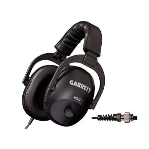 Garrett MS-2 Headphones with AT 2-Pin Connector (AT Series / ATX / Sea Hunter)