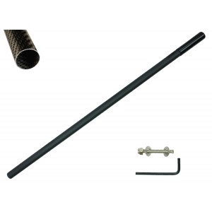 "Anderson Detector Shafts Neptune Carbon Fiber 45"" Scoop Handle (1 3/8th Diameter)"