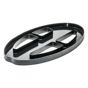 "Image of Nokta Makro 9.5 x 5"" Black Coil Cover (Kruzer Series)"