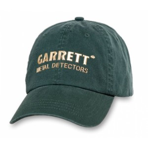 Image of Garrett Cap - Green w/ Metallic Logo
