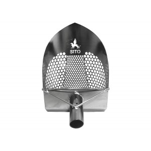 "Sito Scoops 8"" Standard Sand Scoop with Sharp Front (V2)"