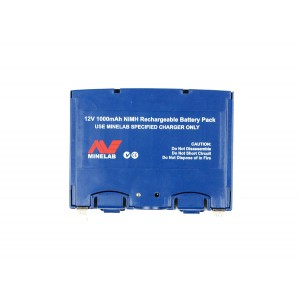 Image of Minelab NiMH Battery Pack - Blue (Eureka Gold)