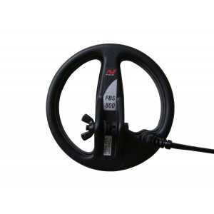 """Minelab 8"""" FBS Search Coil with Lower Rod (E-Series)"""