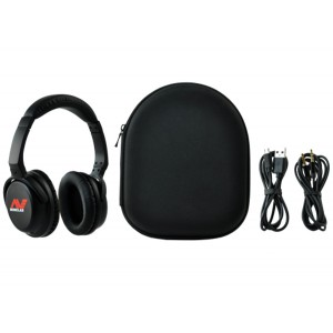Image of Minelab Bluetooth / apt-X Low Latency Wireless Headphones (Equinox)