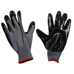 Image of Kellyco Black Polyurethane Coated Gloves