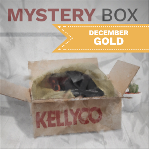 Image of December Mystery Box - Gold
