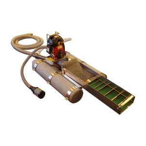 "Keene 2"" Backpack Dredge with Power Jet"