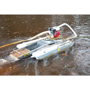 "Keene 6.5 HP 3"" Ultra Mini Dredge with Compressor"