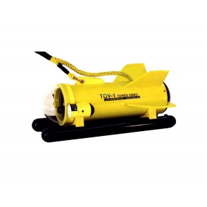 Image of JW Fishers Towed Video TOV-2 Metal Detector with 250' Cable