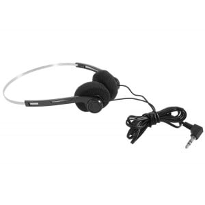 "Image of Deluxe Mini Pro Headphones with 1/4"" Adapter"