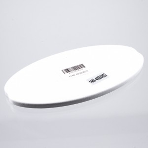 "Image of Nokta Makro 9.5 x 5"" White Search Coil Cover - Closed (Gold Kruzer)"