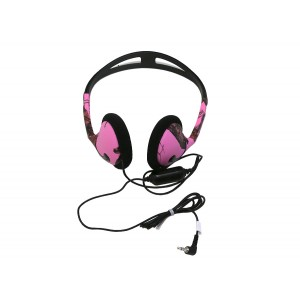 Image of Koss Mossy Oak Portable Headphone - Pink