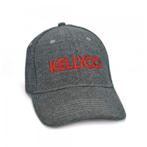 Kellyco Vintage Hat (Red on Gray)