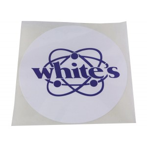 Image of White's Speaker Cover Decal