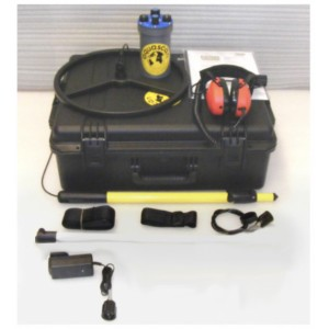 "Aquascan Aquapulse AQ1B Metal Detector Commercial Kit with 10"" Submersible Coil"